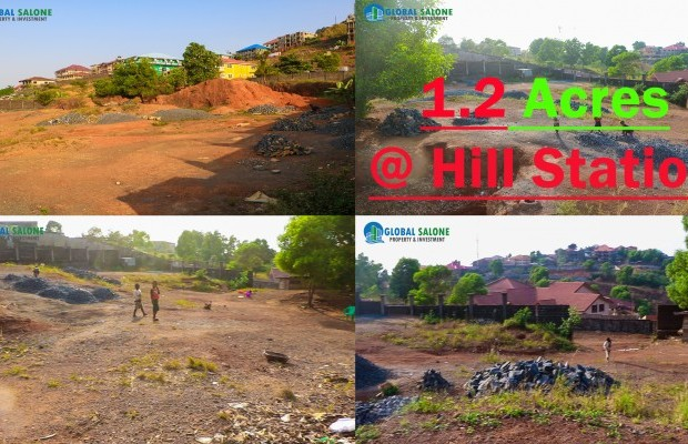 Photo #1 Empty Land for sale in Sierra Leone, Hill Station, Ramon Coker Drive, Hill Station