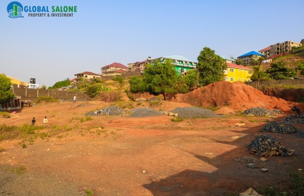 Photo #2 Empty Land for sale in Sierra Leone, Hill Station, Ramon Coker Drive, Hill Station